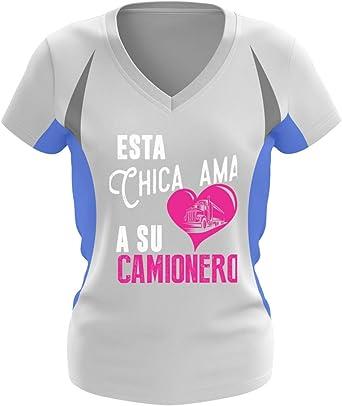 Shirtee Camionero - Esta Chica Ama - Camisa de corredora de ...