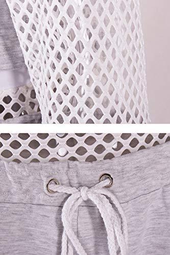 Longues Rayures Femmes Manches Pour Sweatshirt À Pwxqt77