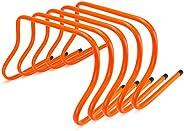 "Crown Sporting Goods SFIT-1203 12"" Speed Agility Training Hurdles, Pack"