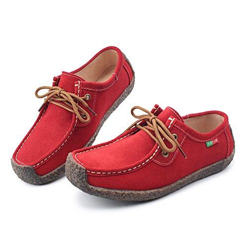 l-run-womens-cute-causal-suede-walking-flat-shoes-fashion-red-sneaker-85-m-us