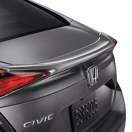 Honda Civic Sedan 2016 - 2017 Factory estilo labio Alerón pintado en la fábrica pintura código de tu elección con 3 m cinta incluido: Amazon.es: Coche y ...