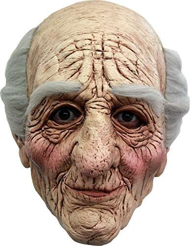[Grandpa Halloween Mask] (Old Lady And Old Man Halloween Costumes)