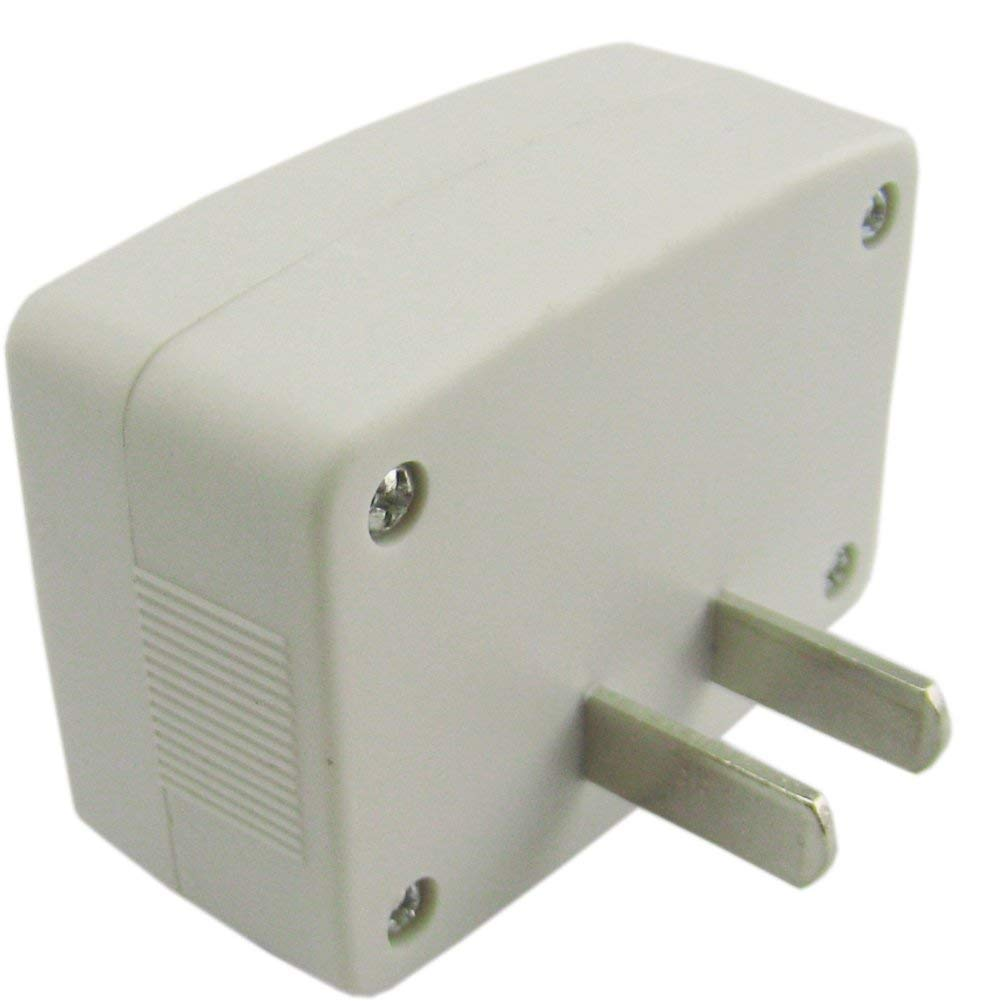 Yeeco 4 PCS Wall Flat US Plug LCD Digital Voltmeter Volt Panel Meter Voltage Tester Gauge AC 80-300V 110V 220V Voltage Measuring Monitor Volt Monitoring Measure Measurement Household Camper Voltage Te