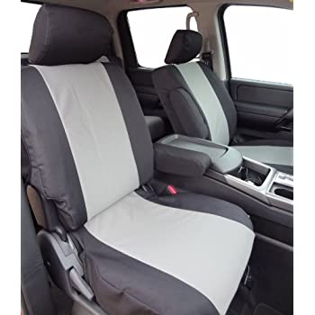 Enjoyable Exact Seat Covers Ns4 C1 X7 Custom Fit Seat Covers Designed For 2005 2009 Nissan Titan Crew Cab Front Captain Chairs With Side Impact Airbags Machost Co Dining Chair Design Ideas Machostcouk