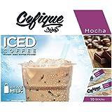 Cofique Iced Coffee Mocha, 10 Sachets x 24 gm (Pack of 1)