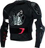 engineered garments vest - Alpinestars Unisex-Adult Bionic Tech Jacket (Black/White/Red, XX-Large)