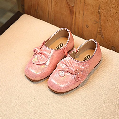 MuSheng Laufschuhe Kinder Hausschuhe Rosa Kinder für Mädchen Sneaker Schuhe Rosa