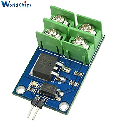 Phenomenal Amazon Com 3V 5V Low Control High Voltage 12V 24V 36V Switch Mosfet Wiring Cloud Hisonuggs Outletorg