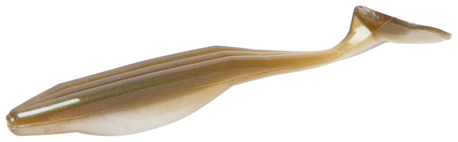 Zoom Bait Swimmin Super Fluke Jr Bait-Confezione da 10, Albino Zoom Bait Co. 117-091