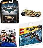 2017 Hot Wheels Tumbler Camo Retro & Lego Batwing with DC Comics Batman Unlimited Mighty Minis Figure Blind Box