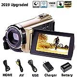 Hausbell Upgraded Camcorder 8.0Mega Pixels CMOS Sensor HDV-5052 IR Digital Video Camera Digital