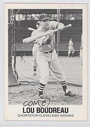 Amazoncom Lou Boudreau Baseball Card 1977 84 Tcma Renata