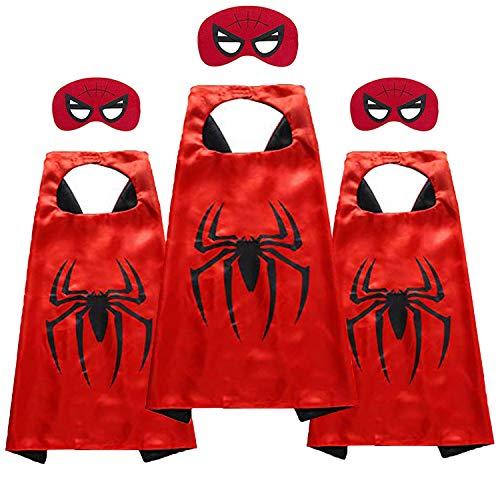 Gmcnm Kids Superhero Corner - Superhero Toys & Costumes - Birthday Christmas Party Supplies (Spiderman -