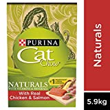 Cat Chow Naturals Dry Cat Food, Chicken & Salmon 5.9 kg