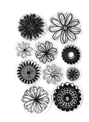 (Forever in Time Clear Cling Rubber Stamp Sunshine Daisy)