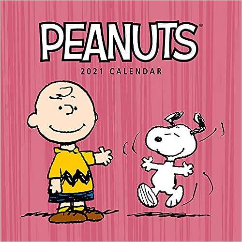 Peanuts 2021 Wall Calendar