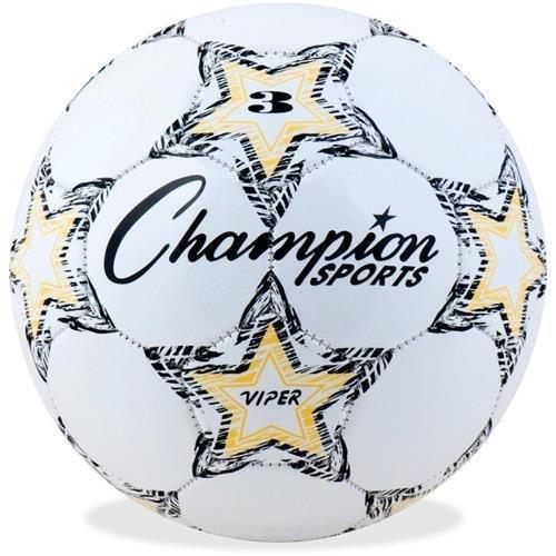 ChampionスポーツViperサッカーボール B004BL70IEホワイト/レッド 3
