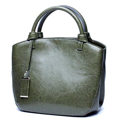 Femminile Brown A Green Delle Totes Borsa M Memoria Versatile Tracolla Size Borse Mobile Xuanbao Retro Donne Mano color gx5Sn