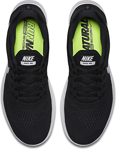 NIKE Free RN Running Shoes Black White Anthracite 831508 001 sale discount 73P65TEL