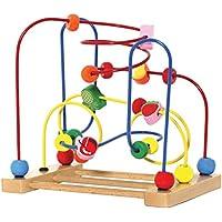[Patrocinado] Kids Destiny. Laberinto de madera de cuentas clásicas, juguete para niños