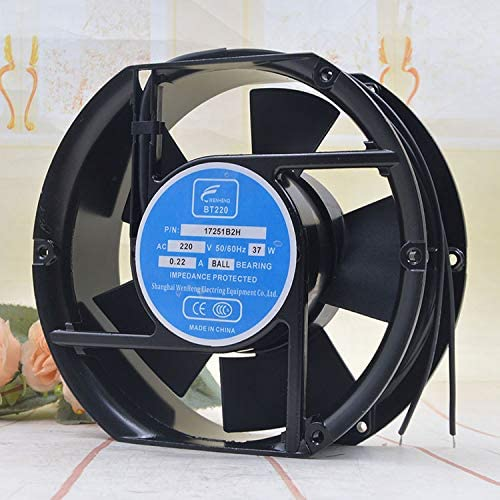 for WENHENG BT220 17251B2H 220V 37W 0.22A 17CM 17215055MM Freezer Storage Cabinet Ventilation Axial Cooling Fan