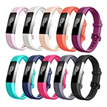 For Fitbit Alta HR and Alta bands, TreasureMax Fitbit Alta HR Band Replacement Wristband Strap for Fitbit Alta HR /Fitbit Alta