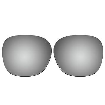 acompatible gafas de sol lentes de repuesto para Oakley Garage Rock OO9175, Titanium Mirror - Polarized