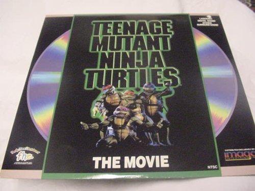 Laserdisc Teenage Nutant Ninja Turtles The Movie NTSC Jim Henson, Judith Hoag, Elias Koteas Rated PG. 93 Minutes. from Laser Disc