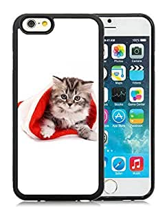 New Design Case Cover For SamSung Galaxy S4 Mini Christmas Cat Black Hard Case 9