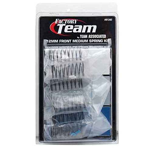 (Team Associated 91342 12mm Front Medium Spring Kit (3-Pair) )