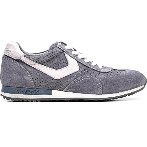 p604042u Sneaker Wildleder Jeans Osimo Giardini Leder Nero 214 Herren TBaXq