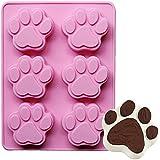 Amazon Com K9cakery Silicone 6 Paw Pan Medium Pet Supplies