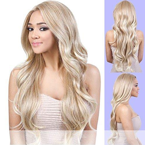 LXP. ENVY (Motown Tress) - Heat Resistant Fiber Lace Part Wig in T27_613 - Motown Tress Lace Wig