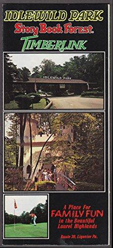 (Idlewild Park Story Book Forest Timberlink Golf Course bklt Ligonier PA 1970s)