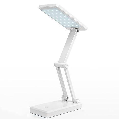 TENDA.FEI LED Lámpara de Mesa con protección para los Ojos ...