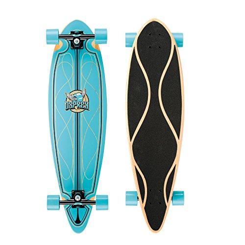 Osprey Pintail Complete Longboard Skateboard