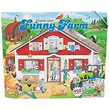 Depesche 7826 Funny Farm - Libro para colorear (32 páginas y 3 pliegos de pegatinas), diseño de granja