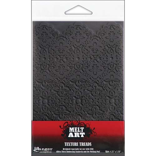 Ranger SUT-34759 Melt Art Texture Tread, Scalloped Lace by Ranger