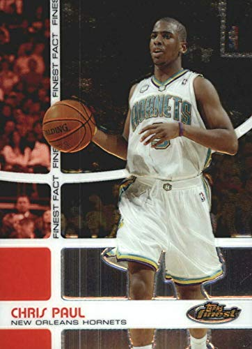 (2005-06 Topps Finest Fact - Chris Paul - NBA Basketball Rookie Card #/1899 - RC Card #FF22)