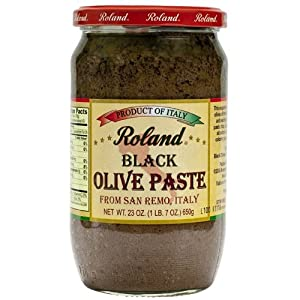 Black Olive Paste - 1 jar, 23 oz