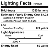 Luxrite LR20633 (6-Pack) PAR30 Eco Halogen Long Neck Light Bulb, 60 Watt (75w replacement) Dimmable, 40° Flood Beam Spread, 2900K, 1080 Lumens E26 Base, For Indoor/outdoor use.