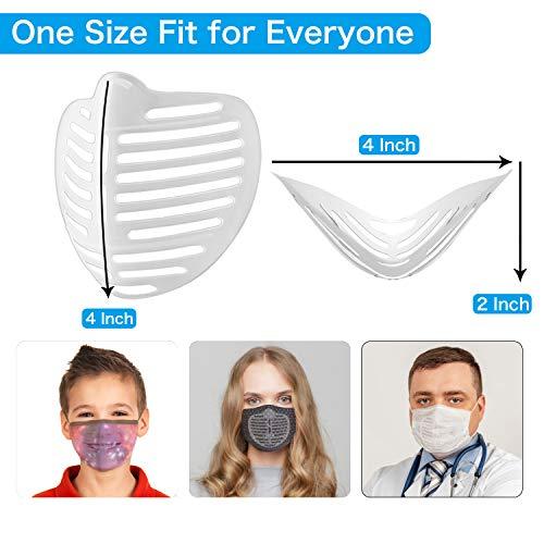 10 Pcs ???????????????? Bracket Silicone - 3D ???????????????? Inner Support Frame, Reusable Washable Bracket for ????????????????