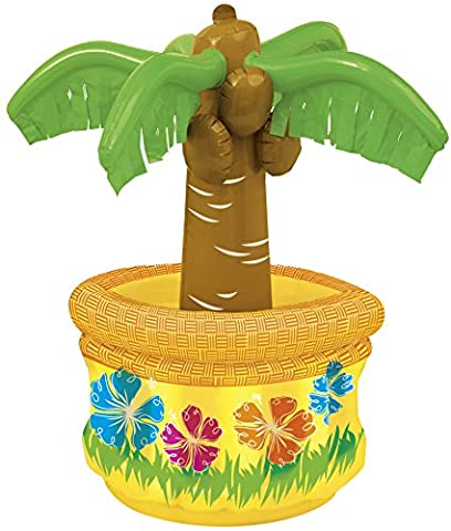 Inflatable Palm Tree Cooler - Party Supplies