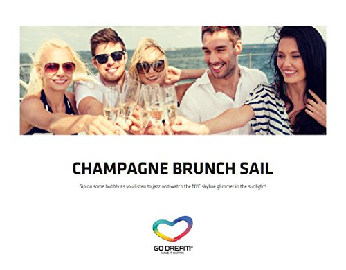 Champagne Brunch Sailing in New York Experience Gift Card NYC - GO DREAM - Sent in a Gift Package