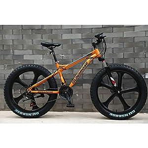 51Vqfe gbeL. SS300 Alta qualità 24/26 Pollici ampliato e ispessite Tire Mountain Bike, motoslitta, Una Ruota, Freno a Disco Ammortizzatore…