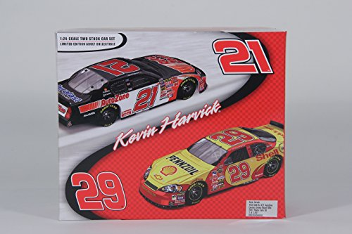 kevin-harvick-29-shell-21-autozone-daytona-sweep-raced-win-2007-monte-carlo-ss-124-scale-cars