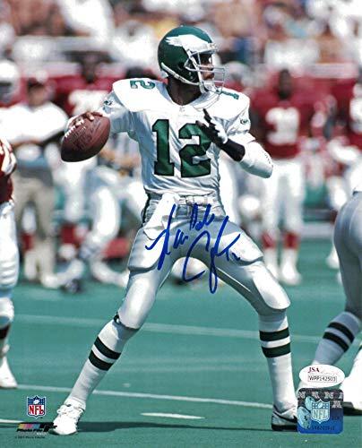 Randall Cunningham Autographed Philadelphia Eagles 8x10 Photo JSA