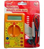 Abhith India DT830D Tpfro Digital Multimeter Small Yellow Color LCD Ac Dc Measuring Voltage Current