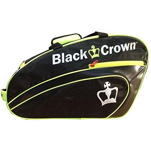 Paletero Black Crown Negro-Lima: Amazon.es: Deportes y aire libre