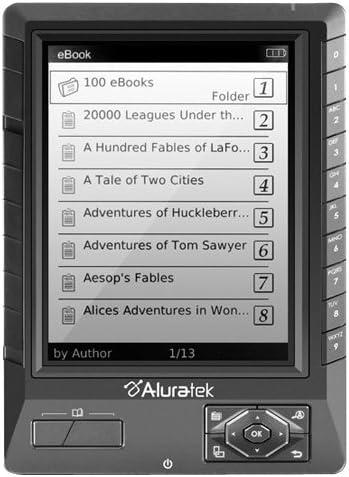 Aluratek AEBK01FS Lector de ebook: Amazon.es: Informática